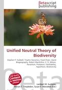 Cover-Bild zu Unified Neutral Theory of Biodiversity von Surhone, Lambert M. (Hrsg.)
