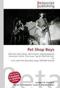 Cover-Bild zu Pet Shop Boys von Surhone, Lambert M. (Hrsg.)