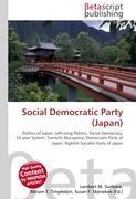 Cover-Bild zu Social Democratic Party (Japan) von Surhone, Lambert M. (Hrsg.)