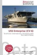 Cover-Bild zu USS Enterprise (CV-6) von Surhone, Lambert M. (Hrsg.)