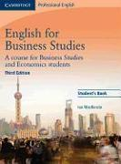 Cover-Bild zu Student's Book - English for Business Studies