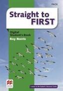 Cover-Bild zu Straight to First Digital Student's Book Pack von Norris, Roy