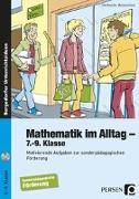 Cover-Bild zu Mathematik im Alltag - 7.-9. Klasse SoPäd von Bachler, Uta