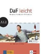 Cover-Bild zu DaF leicht. Kurs- und Übungsbuch + DVD-ROM A1.2