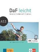 Cover-Bild zu DaF leicht. Kurs- und Übungsbuch + DVD-ROM A2.2