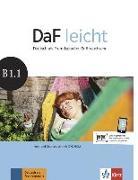 Cover-Bild zu DaF leicht B1.1. Kurs- und Übungsbuch + DVD-ROM