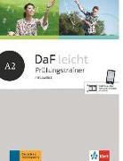 Cover-Bild zu DaF leicht A2. Prüfungstrainer mit Audios von Braun, Birgit