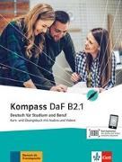 Cover-Bild zu Kompass DaF B2.1 von Braun, Birgit