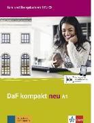 Cover-Bild zu DaF kompakt neu A1. Kurs- und Übungsbuch + MP3-CD von Braun, Birgit