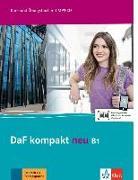 Cover-Bild zu DaF kompakt neu B1. Kurs- und Übungsbuch + MP3-CD von Braun, Birgit