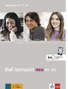 Cover-Bild zu DaF kompakt neu A1-B1. Übungsbuch + MP3-CD von Braun, Birgit