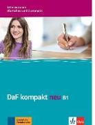 Cover-Bild zu DaF kompakt neu B1. Intensivtrainer - Wortschatz und Grammatik von Braun, Birgit