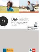 Cover-Bild zu DaF leicht A1. Prüfungstrainer mit Audios von Braun, Birgit