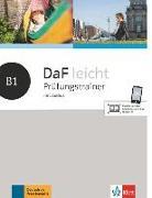 Cover-Bild zu DaF leicht B1. Prüfungstrainer mit Audios von Braun, Birgit
