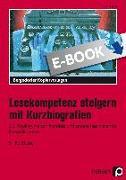 Cover-Bild zu Lesekompetenz steigern mit Kurzbiografien (eBook) von Eggert, Jens