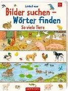 Cover-Bild zu So viele Tiere von Brauer, Sybille (Illustr.)