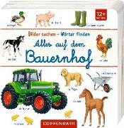 Cover-Bild zu Alles auf dem Bauernhof von Brauer, Sybille (Illustr.)