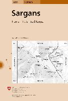 Cover-Bild zu Sargans. 1:25'000