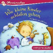 Cover-Bild zu Steinwart, Anne: Wie kleine Kinder schlafen gehen und andere Geschichten (Audio Download)