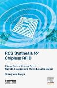 Cover-Bild zu Rance, Olivier: RCS Synthesis for Chipless RFID (eBook)