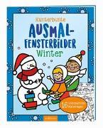 Cover-Bild zu Kunterbunte Ausmal-Fensterbilder - Winter