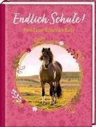 Cover-Bild zu Roß, Thea (Illustr.): Kleines Geschenkbuch - Pferdefreunde - Endlich Schule!