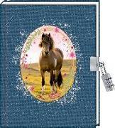 Cover-Bild zu Roß, Thea (Illustr.): Tagebuch - Pferdefreunde - Mein Tagebuch