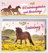 Cover-Bild zu Roß, Thea (Illustr.): Einladungskarten - Pferdefreunde - Einladung