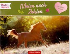 Cover-Bild zu Roß, Philipp (Illustr.): Pferdefreunde - Malen nach Zahlen