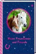 Cover-Bild zu Roß, Thea (Illustr.): Freundebuch - Pferdefreunde - Meine Freundinnen und Freunde