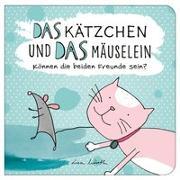 Cover-Bild zu Wirth, Lisa: Das Kätzchen und das Mäuselein - können beide Freunde sein   Lustiges Kinderbuch über Freundschaft   Bilderbuch für Kinder ab 3 Jahre   Lustige Kindergeschichte Maus und Katze