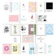 Cover-Bild zu Wirth, Lisa: Postkarten Set - Postkarten Sprüche mit 25 hochwertigen versch. liebevollen Motiven und wunderschönen Sprüchen und Zitaten