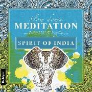 Cover-Bild zu Lisa, Wirth: Malbuch Erwachsene Entspannung: Spirit of India - Mit zauberhaften Motiven entspannen