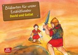 Cover-Bild zu Bildkarten für unser Erzähltheater. David und Goliat von Lefin, Petra (Illustr.)