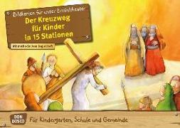 Cover-Bild zu Der Kreuzweg für Kinder in 15 Stationen. Kamishibai Bildkartenset von Jaud, Barbara