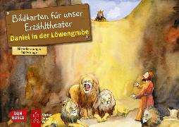Cover-Bild zu Daniel in der Löwengrube. Kamishibai Bildkartenset von Nommensen, Klaus-Uwe