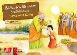 Cover-Bild zu David wird König. Kamishibai Bildkartenset von Nommensen, Klaus-Uwe