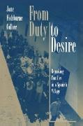 Cover-Bild zu From Duty to Desire von Collier, Jane Fishburne