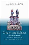 Cover-Bild zu Citizen and Subject von Mamdani, Mahmood