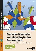 Cover-Bild zu Einfache Mandalas zur phonologischen Bewusstheit von Konkow, Monika