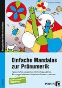 Cover-Bild zu Einfache Mandalas zur Pränumerik von Konkow, Monika