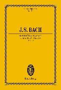 Cover-Bild zu Bach, Johann Sebastian: St Matthew Passion (eBook)