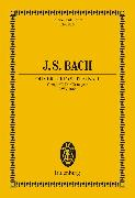 Cover-Bild zu Bach, Johann Sebastian: Ouverture (Suite) No. 1 C major (eBook)
