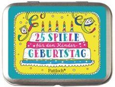 Cover-Bild zu Rechl, Christine (Illustr.): 25 Spiele für den Kindergeburtstag
