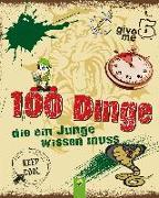 Cover-Bild zu Kiefer, Philip: 100 Dinge die ein Junge wissen muss