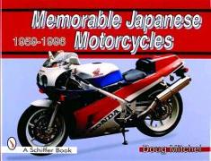 Cover-Bild zu Mitchel, Doug: Memorable Japanese Motorcycles 1959-1996