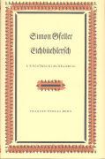 Cover-Bild zu Gfeller, Simon: Eichbüehlersch