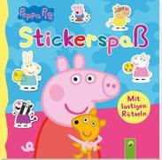 Cover-Bild zu Schwager & Steinlein Verlag: Peppa Pig Stickerspaß
