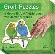 """Cover-Bild zu Redaktionsteam Verlag an der Ruhr: Groß-Puzzles: Thema """"Tiere"""""""