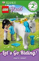 Cover-Bild zu Saunders, Catherine: LEGO® Friends Let's Go Riding (eBook)